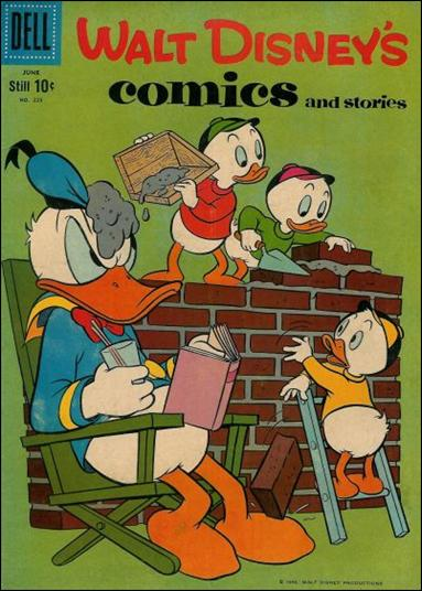 Walt Disney's Comics and Stories (1940) 225-A by Dell