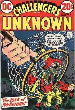 Challengers of the Unknown (1958) 78-A by DC