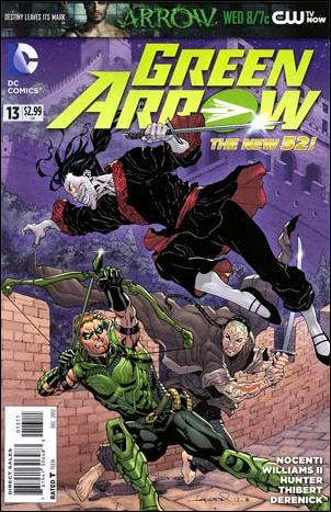 Green Arrow (2011) 13-A by DC
