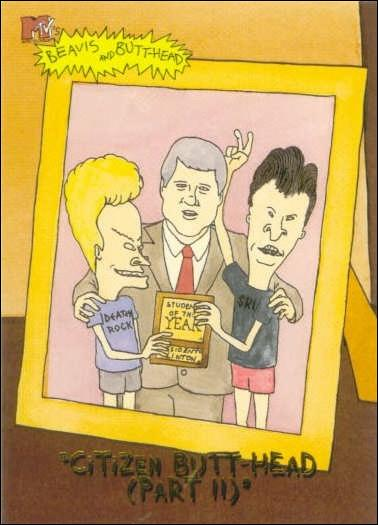 Beavis and Butt-Head (Base Set) '0769'-A by Fleer