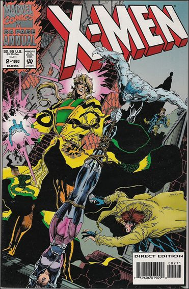 X-Men Annual 2-B by Marvel