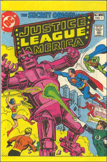Secret Origin of the Justice League of America 1-A by DC