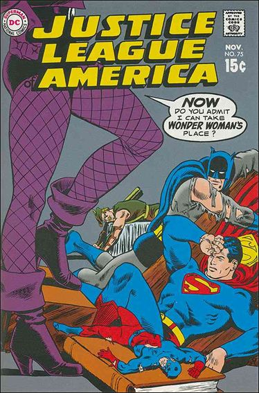 Justice League of America (1960) 75-A by DC