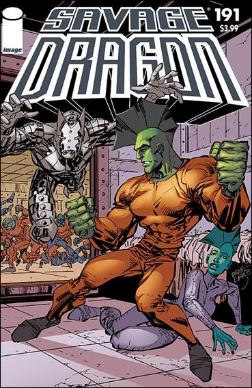 Savage Dragon (1993) 191-A by Image