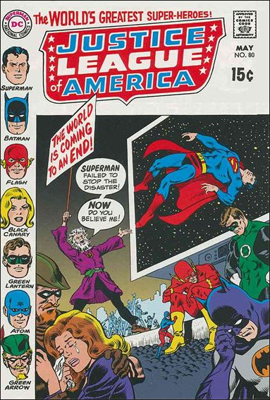 Justice League of America (1960) 80-A by DC