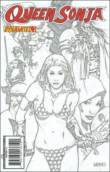 Queen Sonja 4-D by Dynamite Entertainment