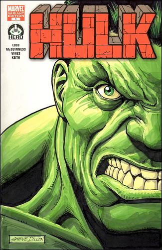 Hulk 100 (Hero Initiative) Cover Project 2-A by Marvel