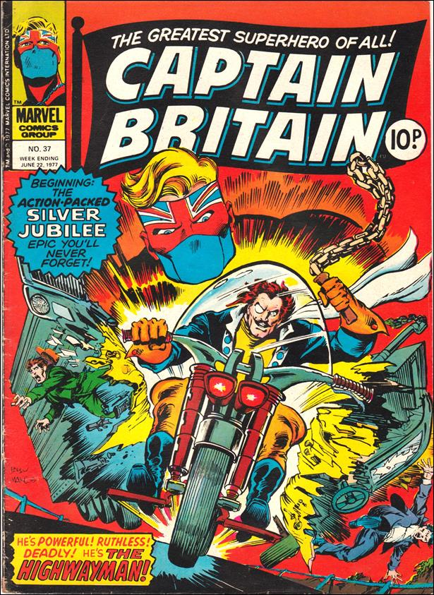 Captain Britain (UK) (1976) 37-A by Marvel UK