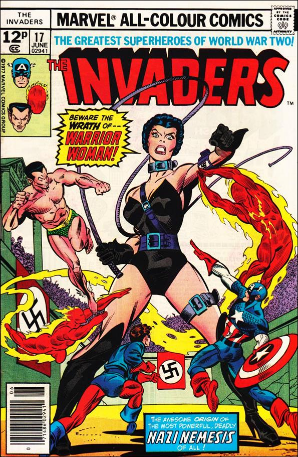 Invaders (1975) 17-C by Marvel