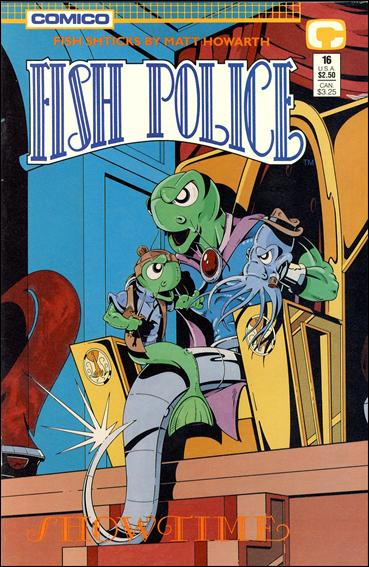Fish Police (1988) 16-A by Comico