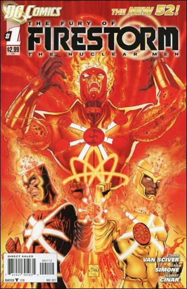 Fury of Firestorm: The Nuclear Men 1-B by DC