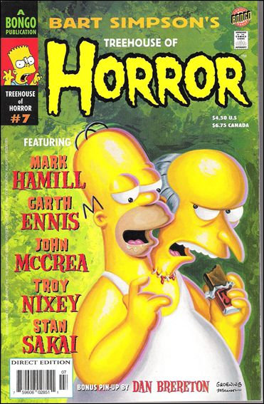 Treehouse of Horror 7-A by Bongo