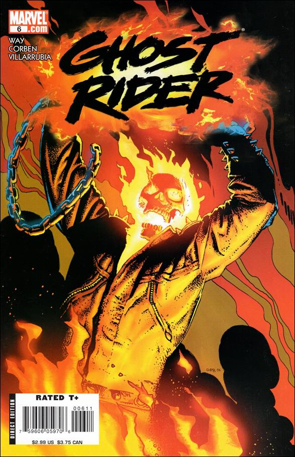 Ghost Rider (2006) 6-A by Marvel