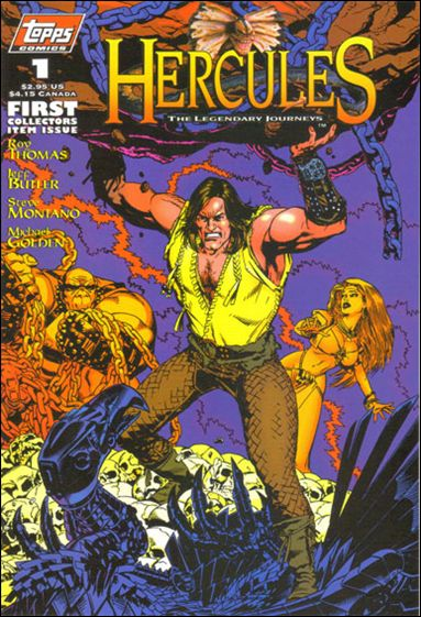 Hercules: The Legendary Journeys 1-A by Topps