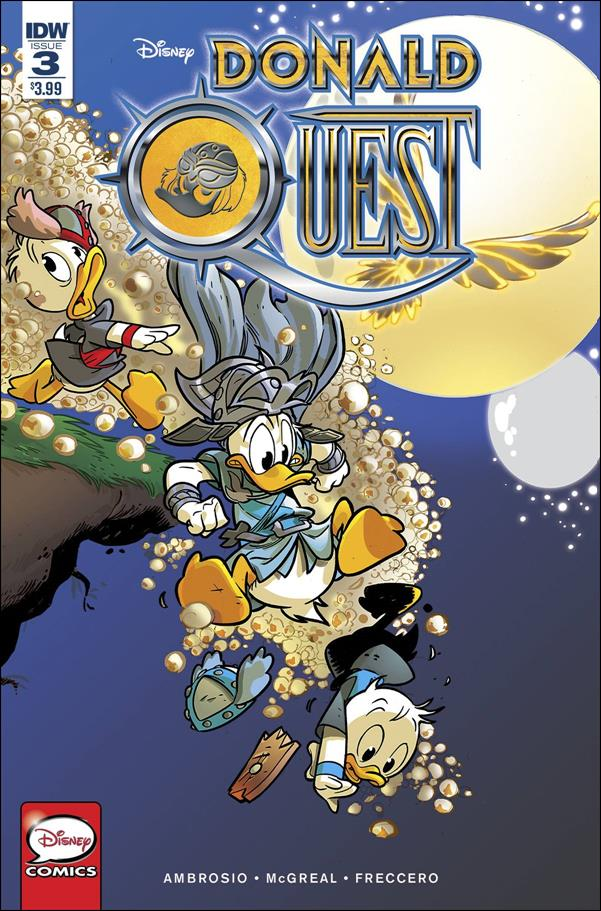 Donald Quest 3-A by IDW