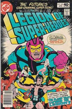 Legion of Super-Heroes (1980) 262-A