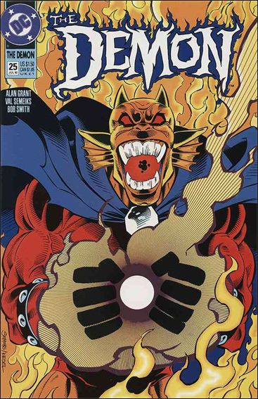 Demon (1990) 25-A by DC