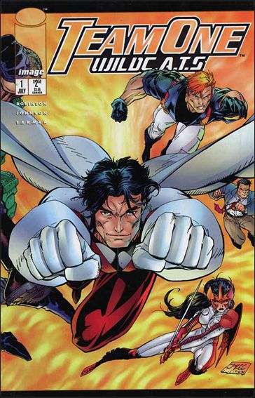 Team One: WildC.A.T.s 1-A by Image