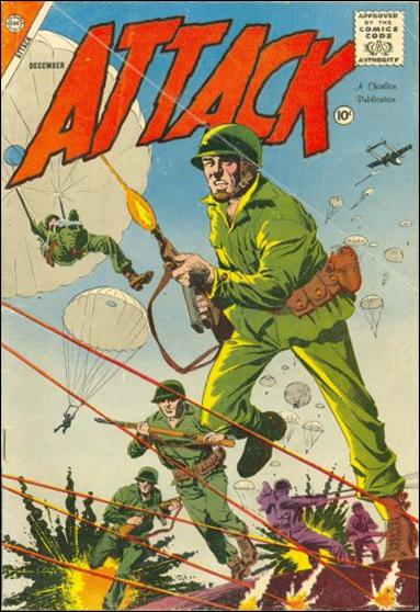 Attack (1958) 55-A by Charlton