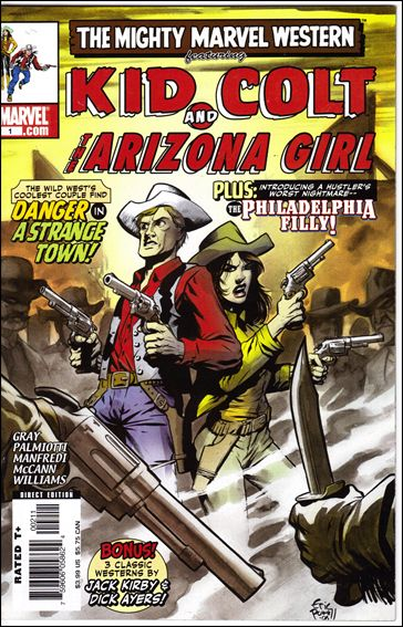 Marvel Westerns: Kid Colt and The Arizona Girl 1-A by Marvel