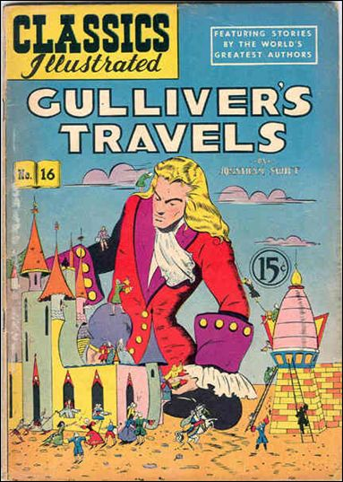 Classic Comics/Classics Illustrated 16-G by Gilberton