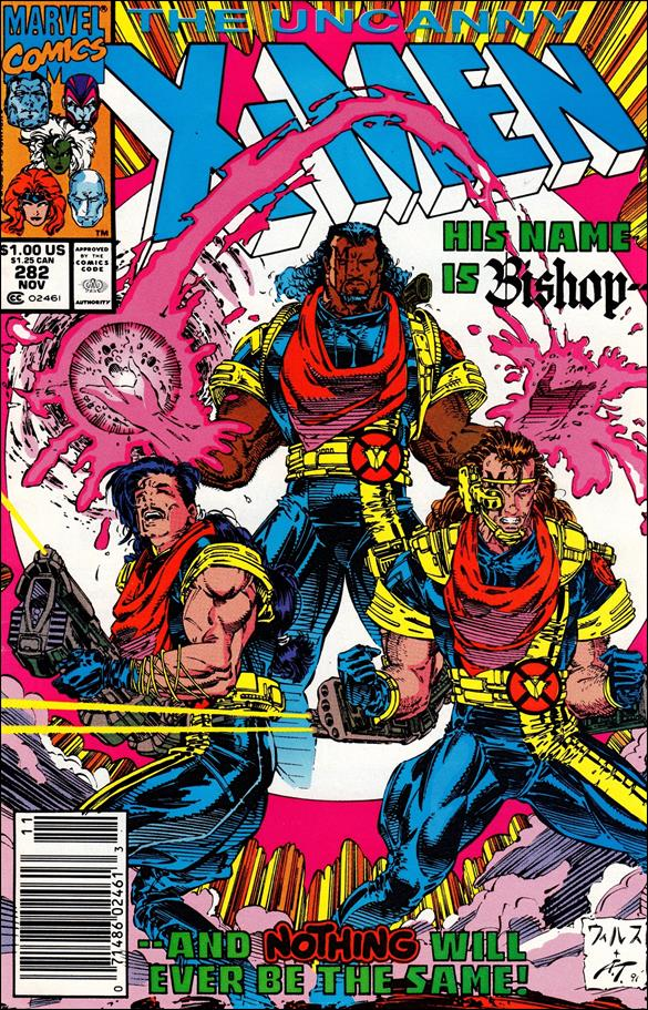 Uncanny X-Men (1981) 282-A by Marvel