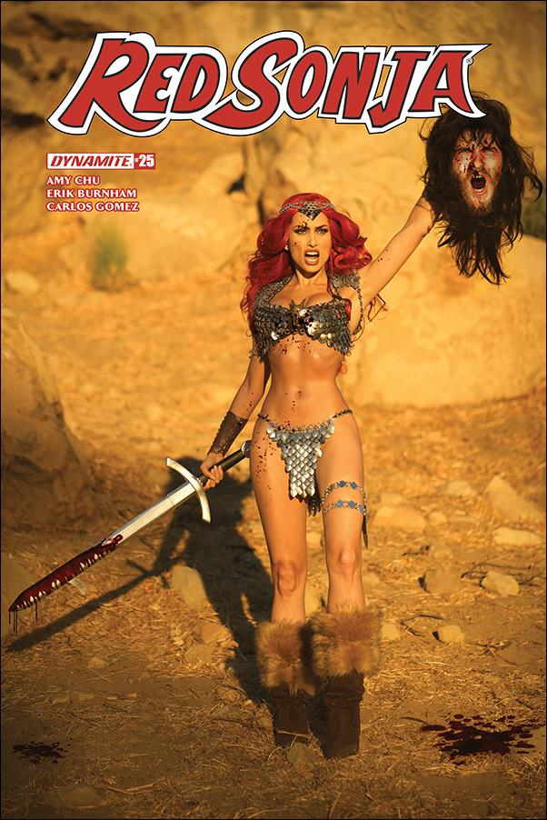 Red Sonja (2017) 25-E by Dynamite Entertainment