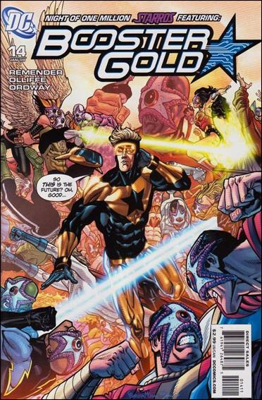Booster Gold (2007) 14-A by DC