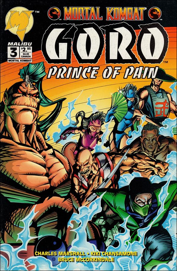 Mortal Kombat: Goro, Prince of Pain 3-A by Malibu