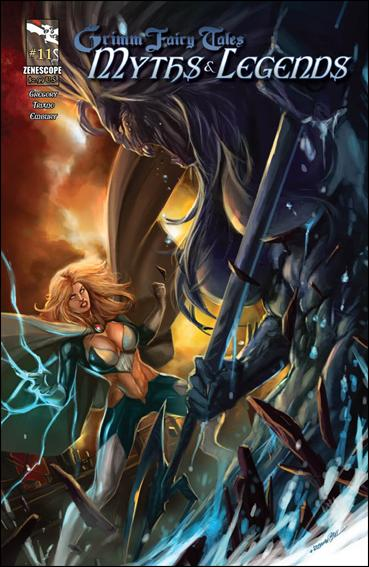 Grimm Fairy Tales Myths & Legends 11-A by Zenescope Entertainment