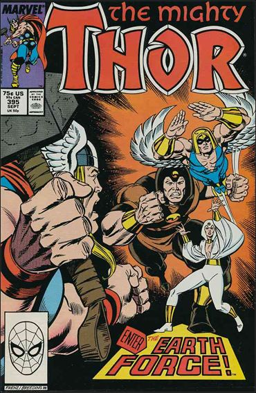 Thor (1966) 395-A by Marvel