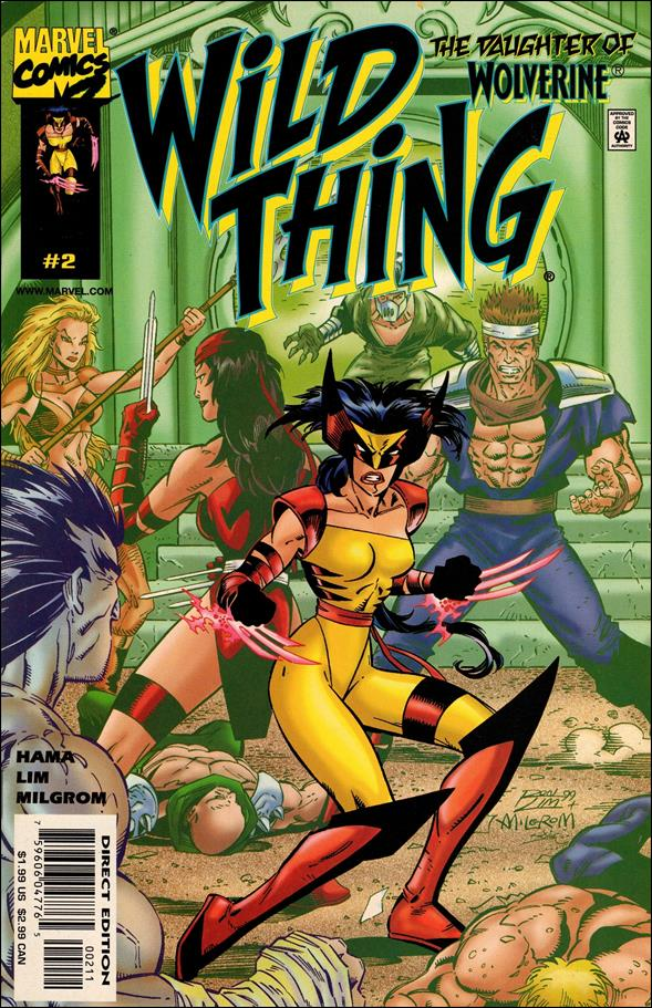 Wild Thing 2-B by Marvel