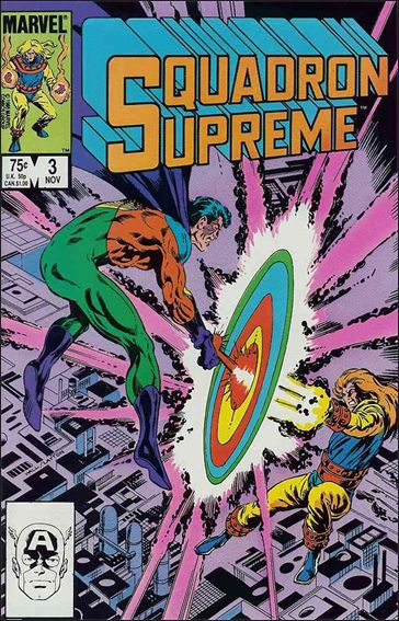 Squadron Supreme (1985) 3-A by Marvel