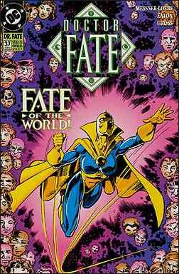Doctor Fate (1988) 37-A by DC