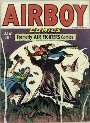 Airboy Comics (1945) 12-A