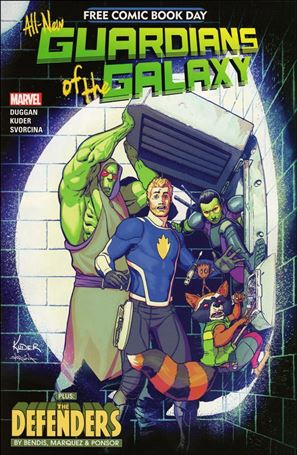 Free Comic Book Day 2017 (All-New Guardians of the Galaxy)) 1-A