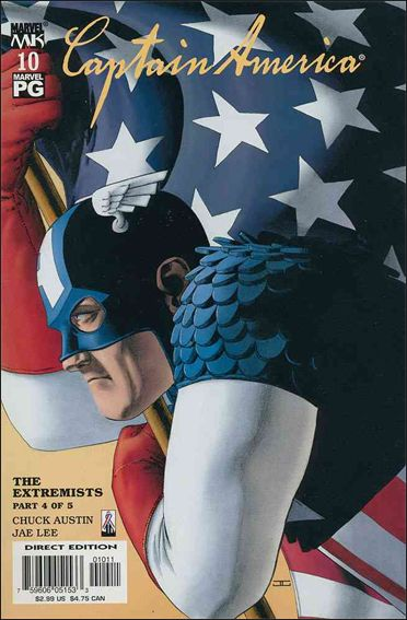 Captain America (2002) 10-A by Marvel