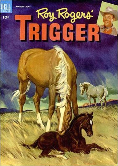 Roy Rogers' Trigger 8-A by Dell