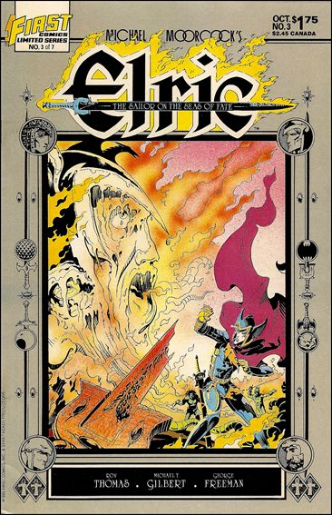Elric: Sailor on the Seas of Fate 3-A by First