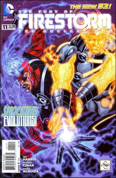 Fury of Firestorm: The Nuclear Men 11-A by DC