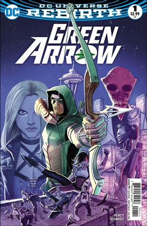 Green Arrow (2016) 1-A