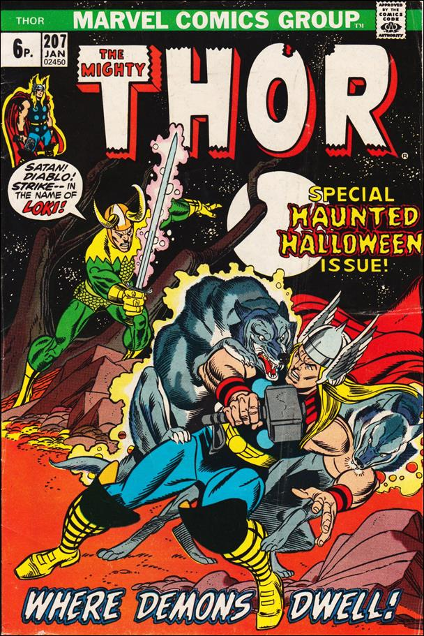 Thor (1966) 207-B by Marvel