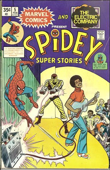 Spidey Super Stories 5-A by Marvel