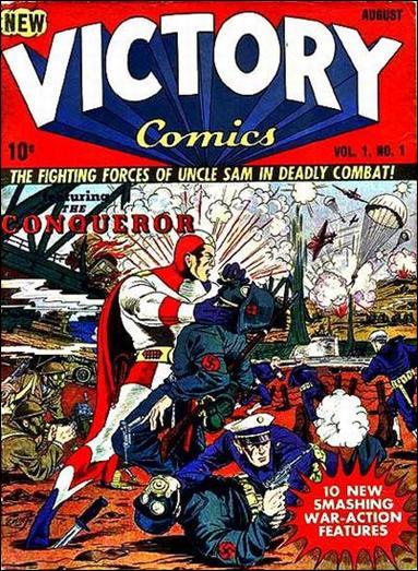 Victory Comics 1-A by Hillman