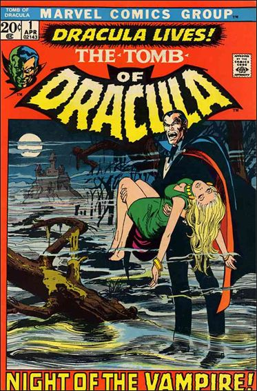 Tomb of Dracula (1972) 1-A by Marvel