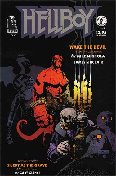 Hellboy: Wake the Devil 2-A by Dark Horse