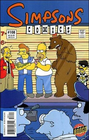 Simpsons Comics 108-A