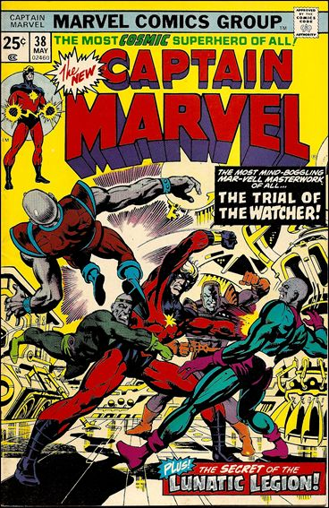 Captain Marvel (1968) 38-A by Marvel