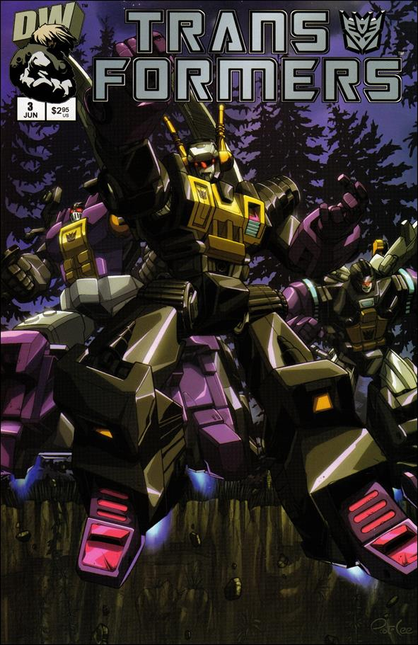 Transformers: Generation 1 (2002) 3-B by Dreamwave