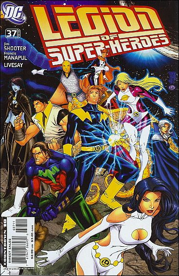 Legion of Super-Heroes (2005) 37-B by DC
